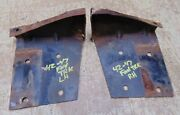 1942 1946 1947 Ford Pickup Panel Truck Inner Fender To Grill Core Support Braces