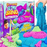 Slimy Play Sand 3 Pounds Of In 3 Different Colors Pink Green And Blue