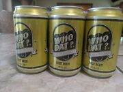 Who Dat Creamy Style Root Beer Complete 6 Pack Full Cans. New Orleans Saints.