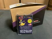 Box Of 20 Pro-mold 100pt. Magnetic One Touch Card Holders Sleeved Card Mh100s