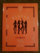 Sistar Album Set Touch N Move With Photocard Excellent Condition