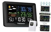 Weather Station Wireless Indoor Outdoor Thermometer With Atomic Clock X-large