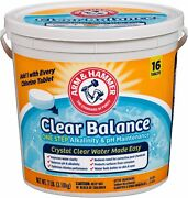 Arm And Hammer Clear Balance Pool Maintenance Tablets, 16 Count