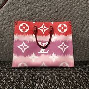 Louis Vuitton Escal Onthego Gm Rouge Tie Dye Tote