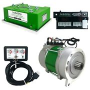 Columbia Par Car 600 Amp 4kw Navitas Dc To Ac Conversion Kit W/ On The Fly