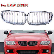 Abs Plastic Car Grill Grille Cover Fit For Bmw E90/92/93 2007-2013 Pre-facelift