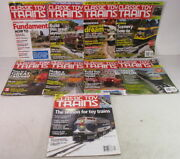 Kalmbachmagazinesclassic Toy Trains2011complete Yearo And S-gauge Model Train