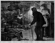 Opium Den In A Chinese City 1880 Antique Engraving Opium Pipe Smoking History