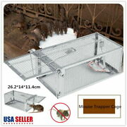 5pack Live Humane Cage Trap For Rats Chipmunks Rodents Small Animal Pest Control