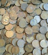 Pre 1940 Old Wheat Penny Rolls Unsearched Cents Us Coins P D S Wheat Pennies