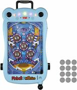 Lonabr Kids Mini Electric Pinball Machine Table Game With Scorer Lights Sounds