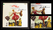 Julie Andrews And Christopher Plummer Double- Signed Sound Of Music Vinyl W/ Coa