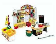 Playmobil General Grocery Store Mart Accessories Set New Free Shipping