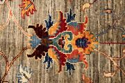 Top Quality Handmade 2and0394 X 10and039 Hall Runner Jewel Colors Vegetable Dyes Wool Rug