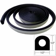 Taco Weather Seal - 10and039x1/2x1/2 Black V30-0202b10-1