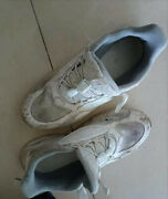 Womens White Sport Shoes Used Size 8.5