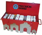 Precision Brand 42996 300 Piece All-in-one Decimal Slotted Shim Asst