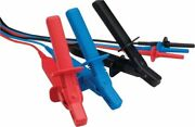 Megger 1003-202 - 30m Test Lead Set X 3 Large Sized 10kv Insulated Clips