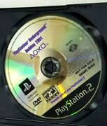 Playstation Underground Holiday 2001 Ps2 Demo Disc Rare1219l20