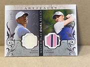 2021 Artifacts Golf Match Play Dual Relic 15/49 Tiger Woods / Justin Thomas Rc