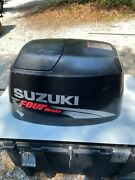 Suzuki Df70 70hp Outboard Top Cowling Pulled From 2006