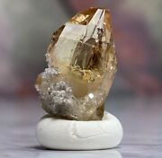 Rough Imperial Topaz Gemstone The Crystal Of Good Fortune Beads.of.babylon