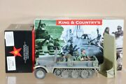 King And Country Wss229 Wss231 Wwii Sd.kfz 10 Ausf.b Demag Troop Carrier Nu