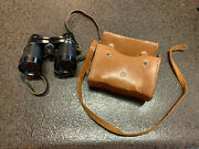 Untested Vintage 1950 Achromatic Binoculars 60a Airguide With Original Case