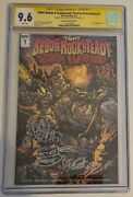 Bebop And Rocksteady Destroy Everything 1 Cgc 9.6 Signed And 2 X Sketch Eastman Tmnt
