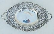 And Co. Sterling Silver 3915 Repousse Platter-10 X 16 1/4-1907-47