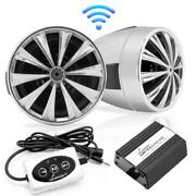Lanzar-opti-drive 700 Watt Blutooth Speaker System With Pair Of 3-in Weatherp...