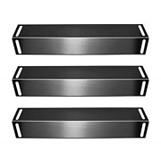 Bbq Mart 92151 3-pack Porcelain Steel Heat Plate Replacement For Select Gas By