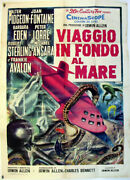 Voyage To The Bottom Of The Sea / Joan Fontaine / 1961 / Irwin Allen / Movie Po