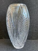 Waterford Crystal Vase 13 Inches Extremely Rare Vintage Seahorse Elegant Simple