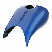 Superior Blue Stretched Tank Cover Fits 08+ Harley Touring Street Road Glide