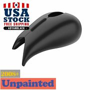 Us Stock Unpainted Stretched Tank Cover Fit 08+ Harley Touring Street Road Glide