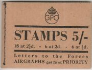 Bd29 June 1944 George Vi Booklet- Fine And Complete Cat Andpound5250