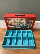 Vintage Tara Toy Corp 4x4 Collectors Case Holds 10 Stompers Rough Riders Insert