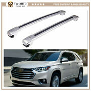 2p Fit For Chevy Chevrolet Traverse 2018-2020 Roof Rail Rack Cross Bar Crossbar