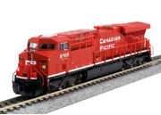Kato Canadian Pacific Cp Es44ac Diesel Locomotive N Scale 176-8934 Dcc Ready