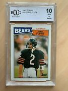 Doug Flutie 1987 Topps 45 Bccg 10 Rc Rookie Nxt Best Thing Bgs9.5 Ps10 Sold240