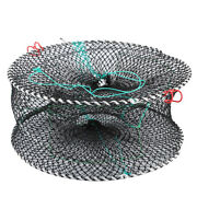 Portable Collapsible Crab Traps Foldable Crabbing Net For Lobster Shrimp Casts