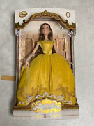 Disney Store Belle Limited Edition Doll Live Action Film Beauty And The Beast