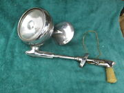1930and039s - 1940and039s S-18 Guide Script Spotlight With Rear View Mirror