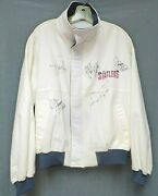 Vintage Lot Of 2 Statler Bros Autographed Jackets Menand039s Size Med And Size X-large