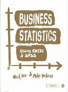 Business Statistics Using Excel And Spss Paperback By Lee Nick Peters Mike...