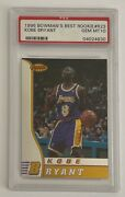 1996 Bowmanand039s Best Rookie Kobe Bryant Trading Card R23 Psa Gm 10