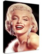Marilyn Monroe 5 Buildable Canvas Frame Canvas Picture Print Wall Art Home Deco
