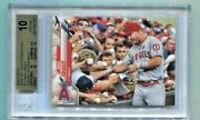 2020 Topps - Mike Trout - Card 14a Sp Signing Autograph Photo Variation Bgs 10