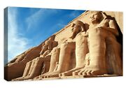 Abu Simbel Egypt Buildable Canvas Frame Canvas Picture Print Wall Art Home Decor